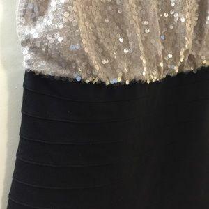 Express Dresses - EXPRESS DRESS SEQUINS BLACK SIZE XS